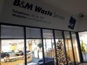BM Waste office partitions liverpool wirral manchester