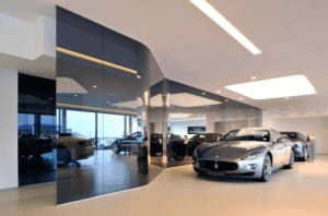 Car Show Rooms office partitions liverpool wirral manchester