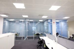 Cube7 008 1 office partitions liverpool wirral manchester