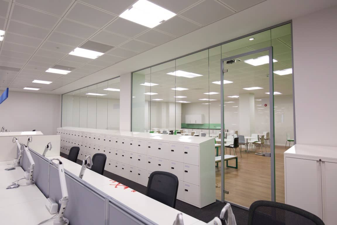 Cube7 013 1 office partitions liverpool wirral manchester