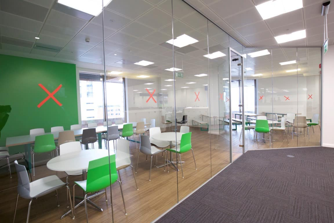 Cube7 037 1 office partitions liverpool wirral manchester