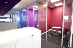 Cube7 045 2 office partitions liverpool wirral manchester