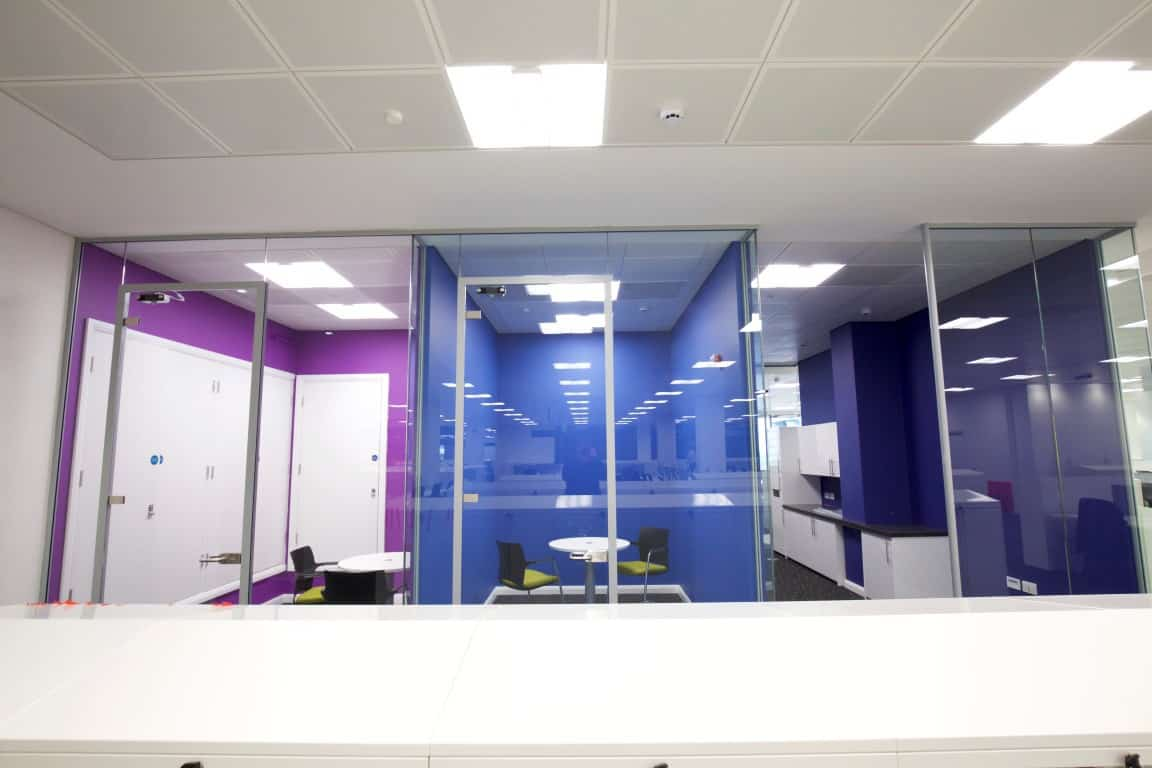 Cube7 060 1 office partitions liverpool wirral manchester