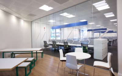 How Glass Office Partitions Can Improve Collaboration