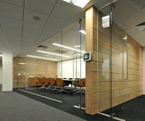 Frameless Glass Screens office partitions liverpool wirral manchester