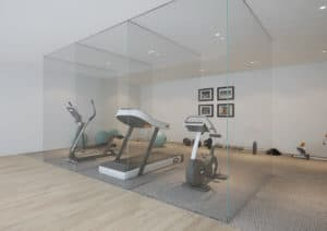 GYM 1 office partitions liverpool wirral manchester