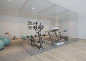 GYM 2 office partitions liverpool wirral manchester