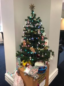 Liverpool city council internal comms gift appeal tree office partitions liverpool wirral manchester