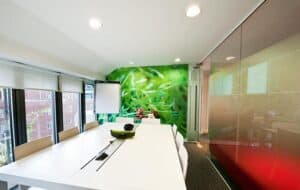 Meeting Room2 4YaEWe office partitions liverpool wirral manchester