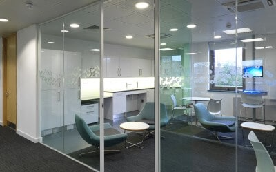 What are the benefits of Glass Partitions?