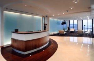 Reception Counter office partitions liverpool wirral manchester