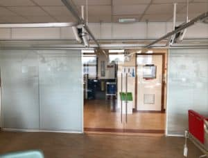 Spire 1 office partitions liverpool wirral manchester