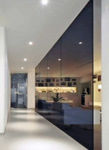 Tinted Glass office partitions liverpool wirral manchester