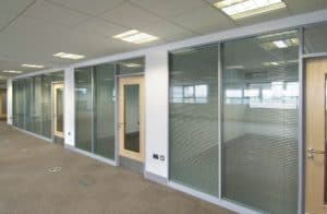 WEST CHESHIRE COLLEGE 009 Medium office partitions liverpool wirral manchester