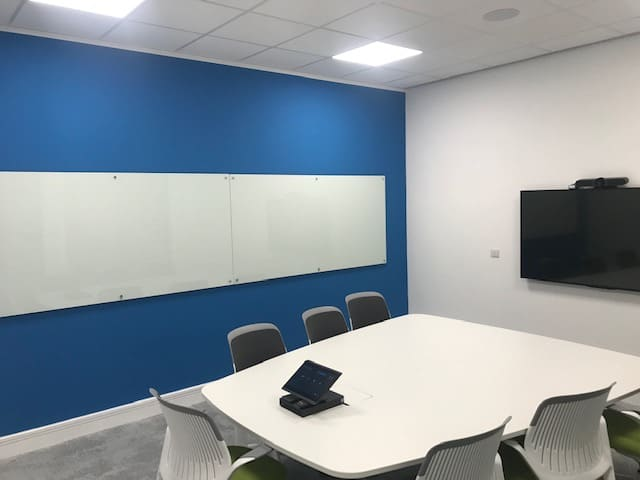 allergan case study 21 office partitions liverpool wirral manchester